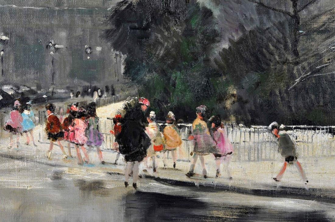 """Jules R. Herve, """"Notre Dame de Paris"""" O/C - 3"""