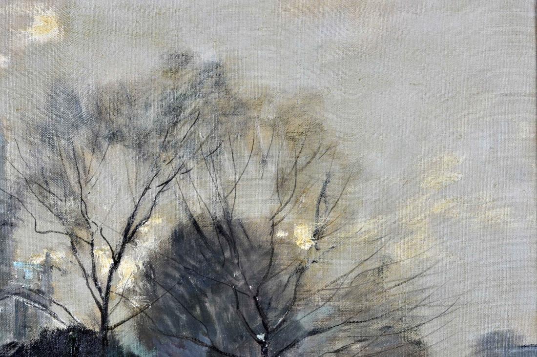 """Jules R. Herve, """"Notre Dame de Paris"""" O/C - 6"""