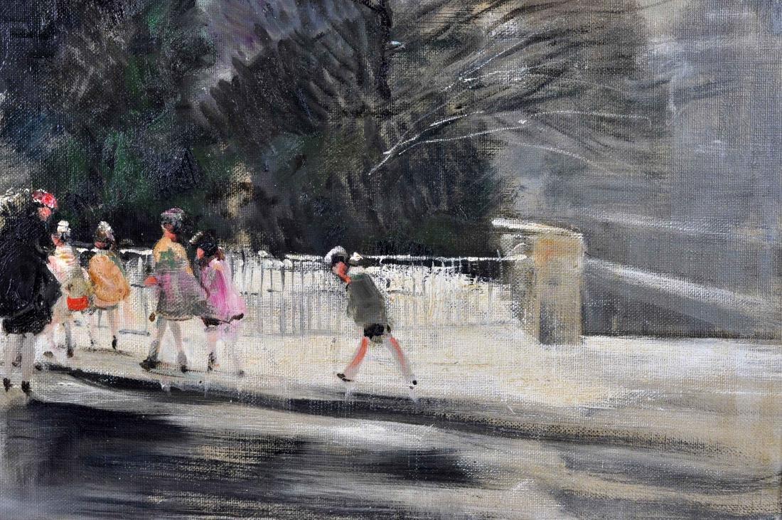 """Jules R. Herve, """"Notre Dame de Paris"""" O/C - 7"""
