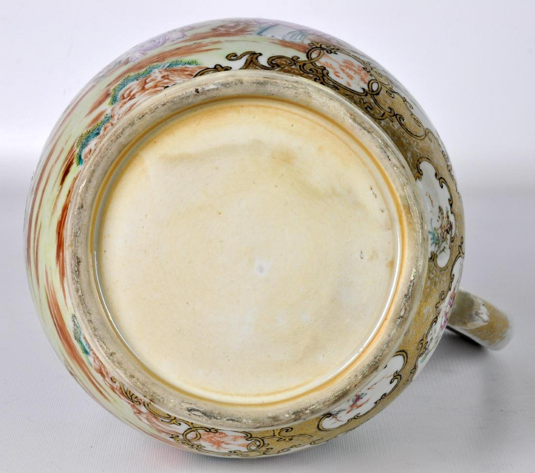 Chinese Export Ceramic Antique Water Jug - 10