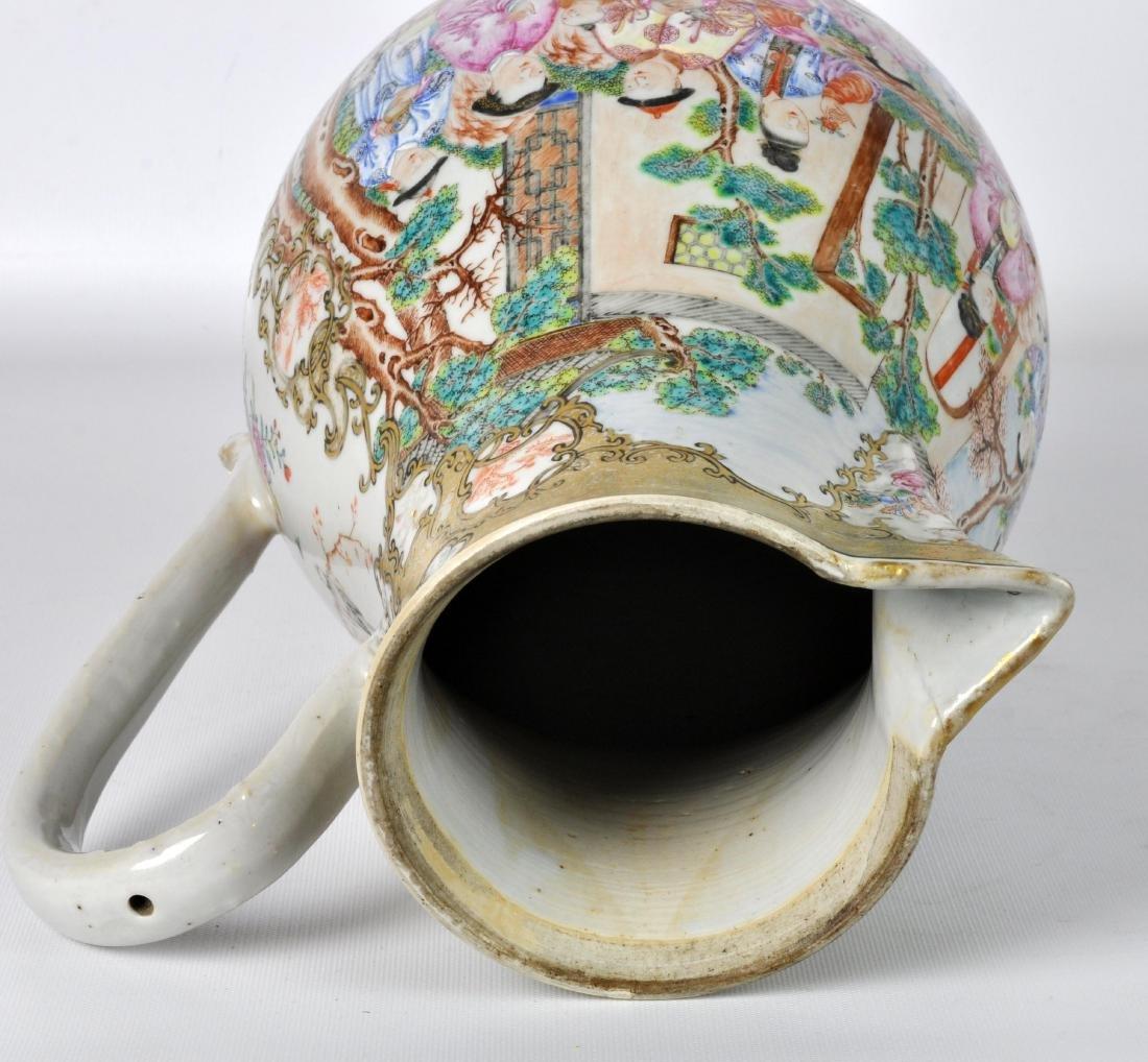 Chinese Export Ceramic Antique Water Jug - 11