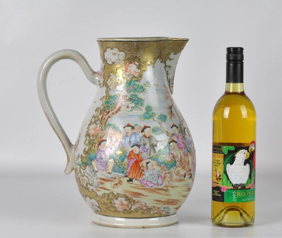 Chinese Export Ceramic Antique Water Jug