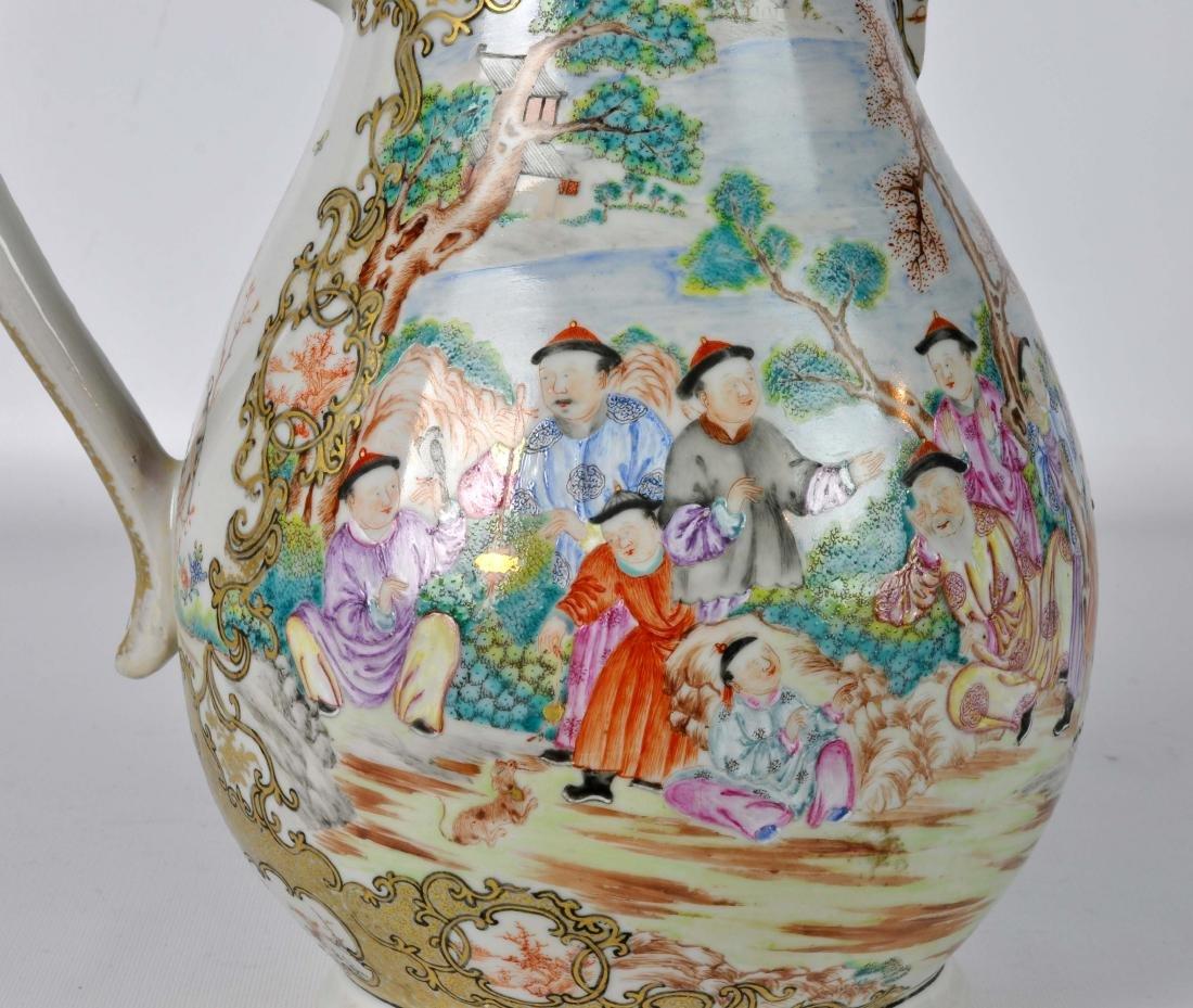 Chinese Export Ceramic Antique Water Jug - 3
