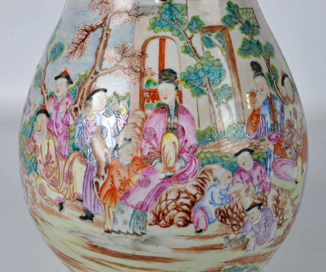 Chinese Export Ceramic Antique Water Jug - 6