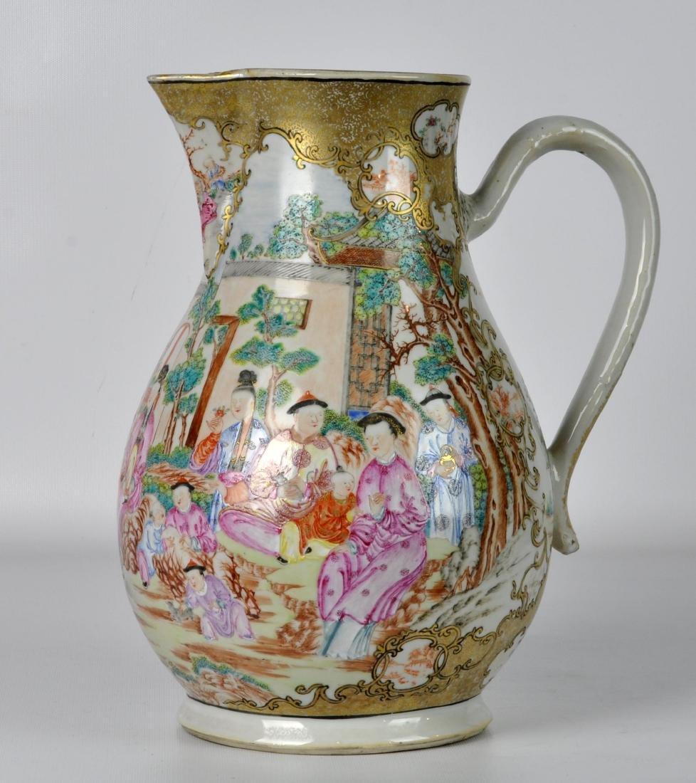 Chinese Export Ceramic Antique Water Jug - 8