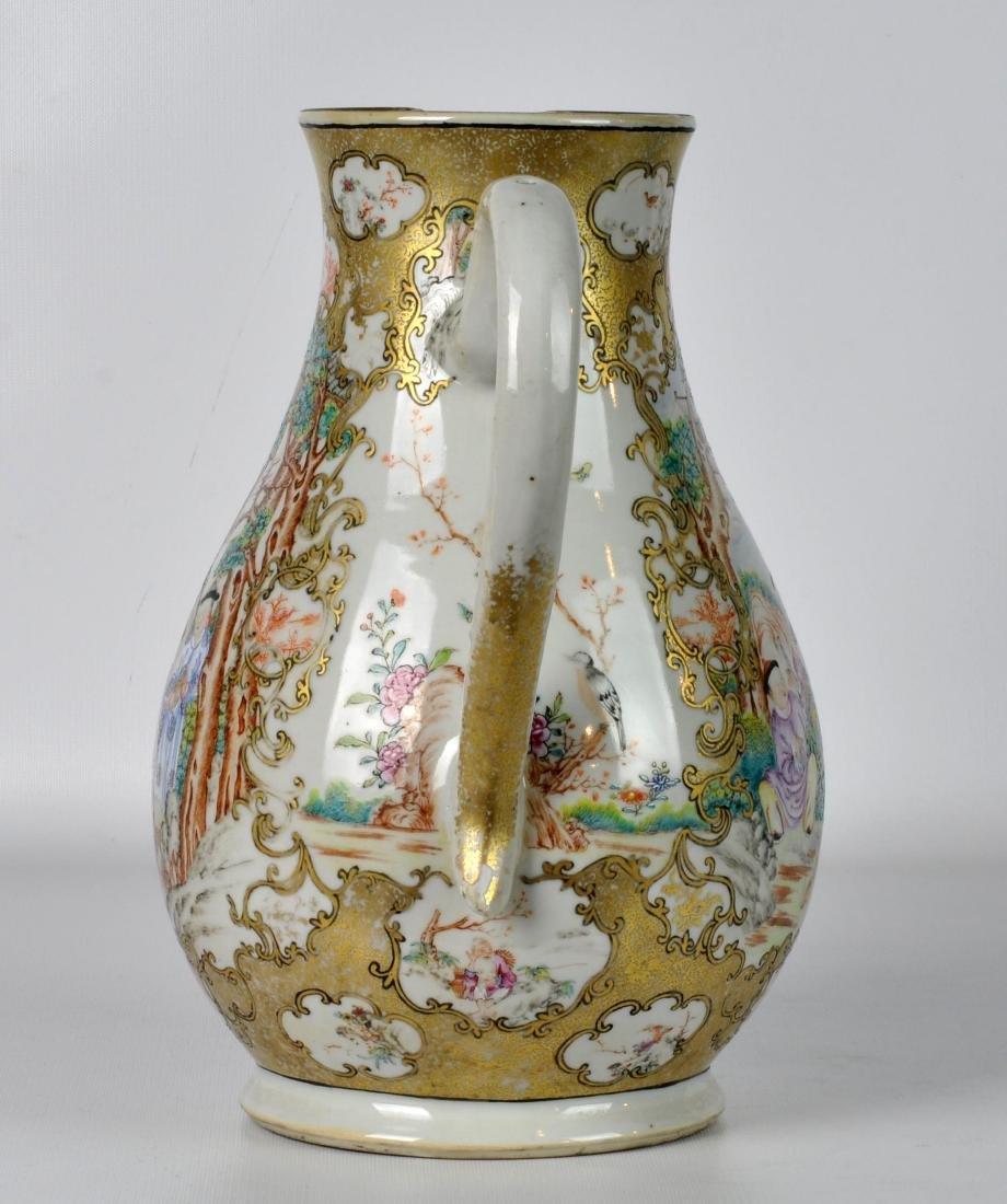 Chinese Export Ceramic Antique Water Jug - 9
