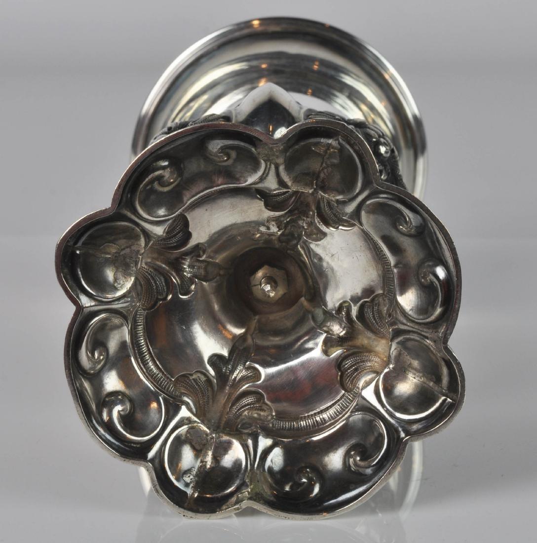 "German Silver Chalice w/ ""Loth Mark 13"" - 5"