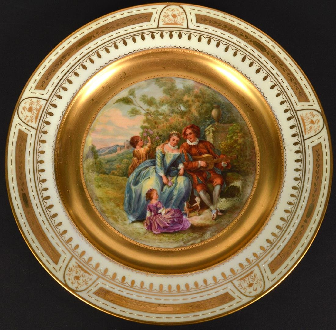 4 Royal Vienna Plates - 10
