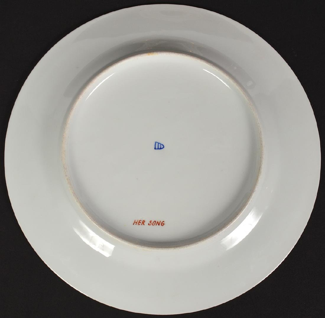 4 Royal Vienna Plates - 4