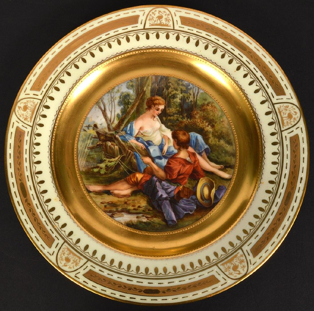 4 Royal Vienna Plates - 8