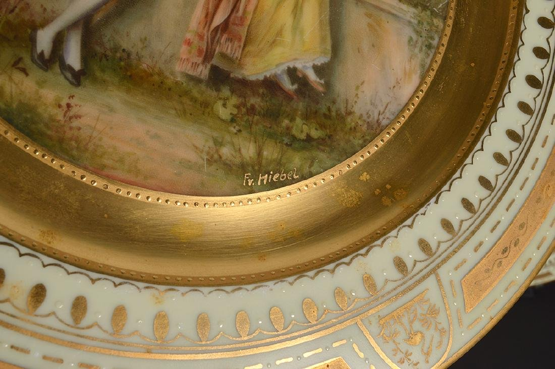 Set of 6 Signed Royal Vienna Plates - 13