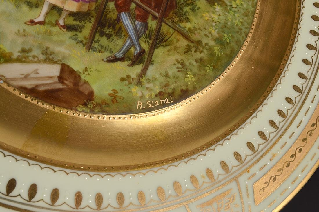 Set of 6 Signed Royal Vienna Plates - 16