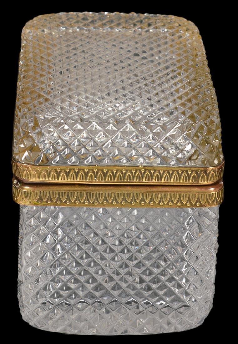 Diamond Cut Crystal Box - 3