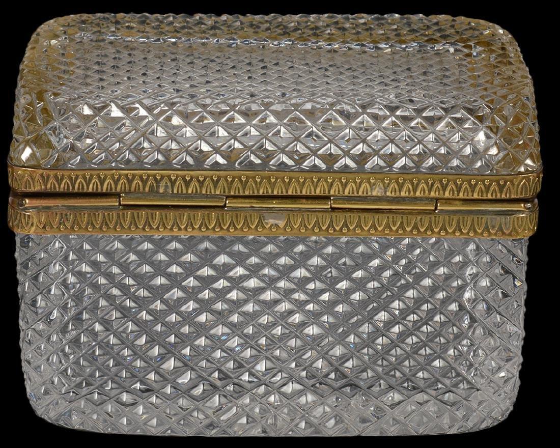 Diamond Cut Crystal Box - 4