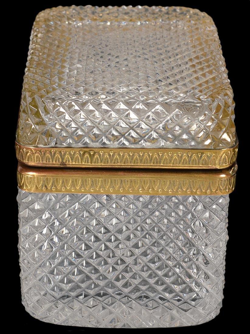 Diamond Cut Crystal Box - 5