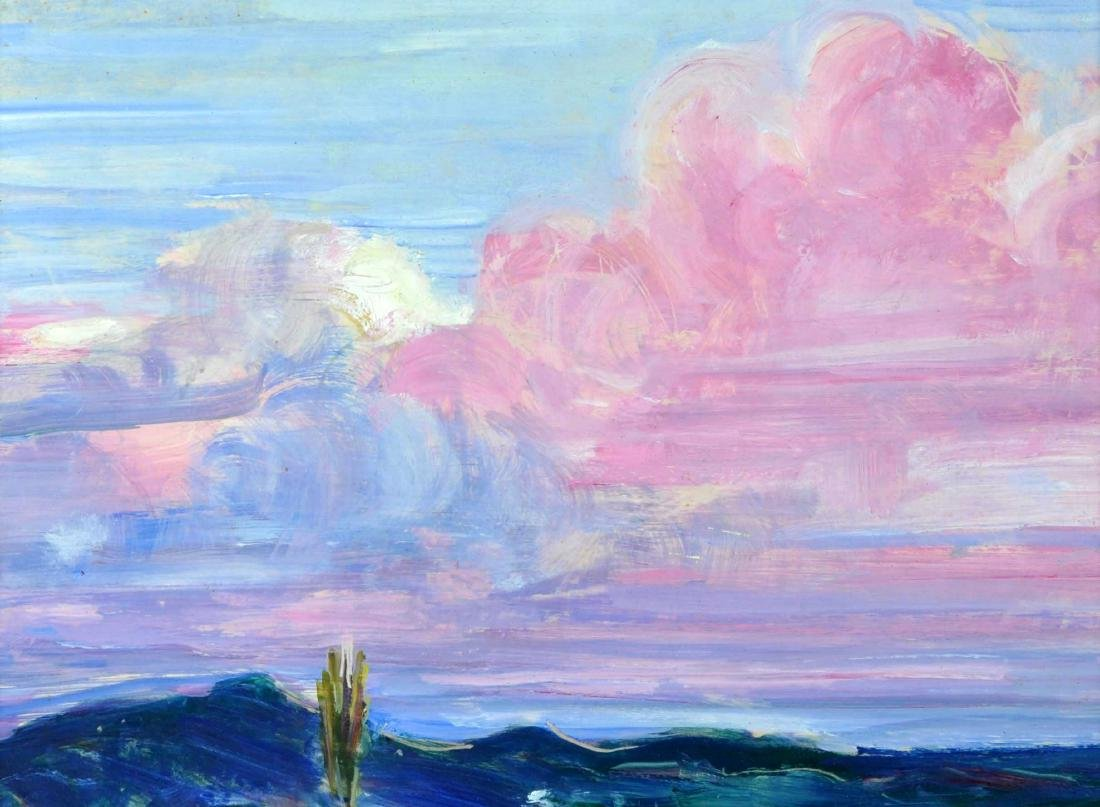 "Rachel V. Hartley Landscape ""OverLook"" O/B"