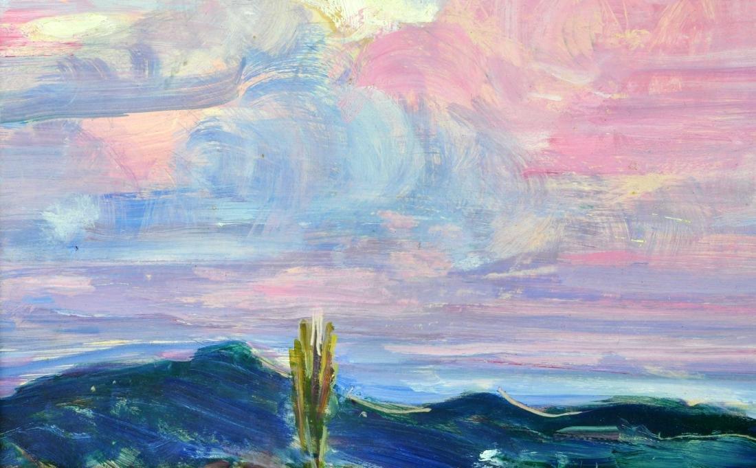 "Rachel V. Hartley Landscape ""OverLook"" O/B - 4"