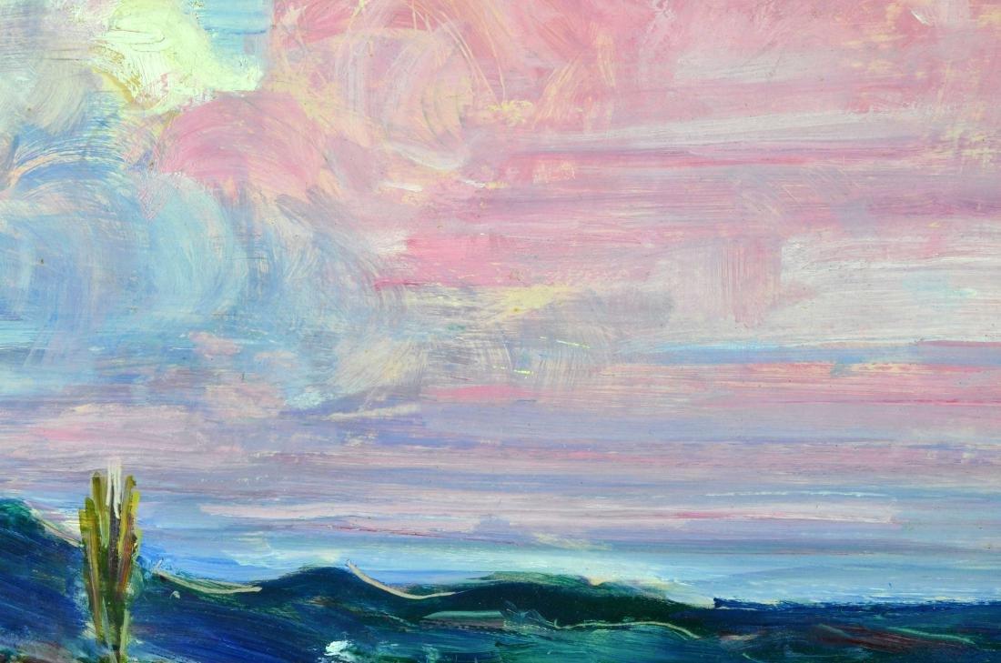 "Rachel V. Hartley Landscape ""OverLook"" O/B - 6"