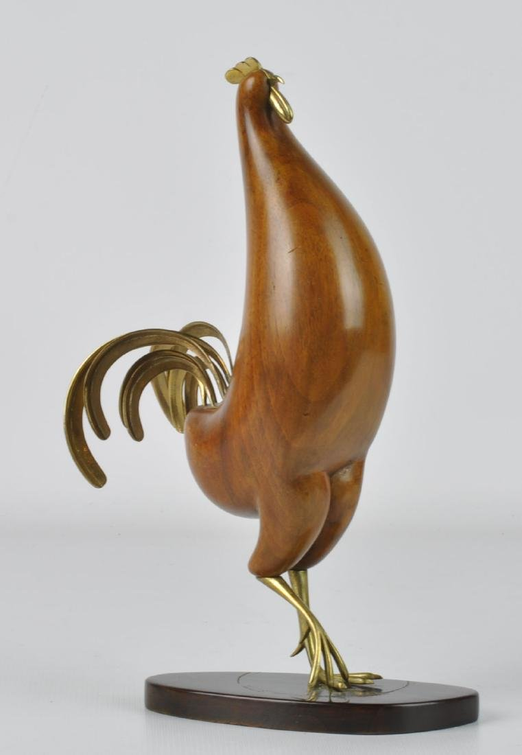 Karl Hagenauer Modernistic Rooster Sculpture