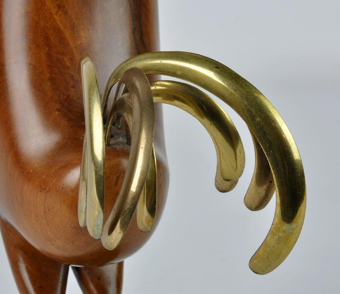Karl Hagenauer Modernistic Rooster Sculpture - 4
