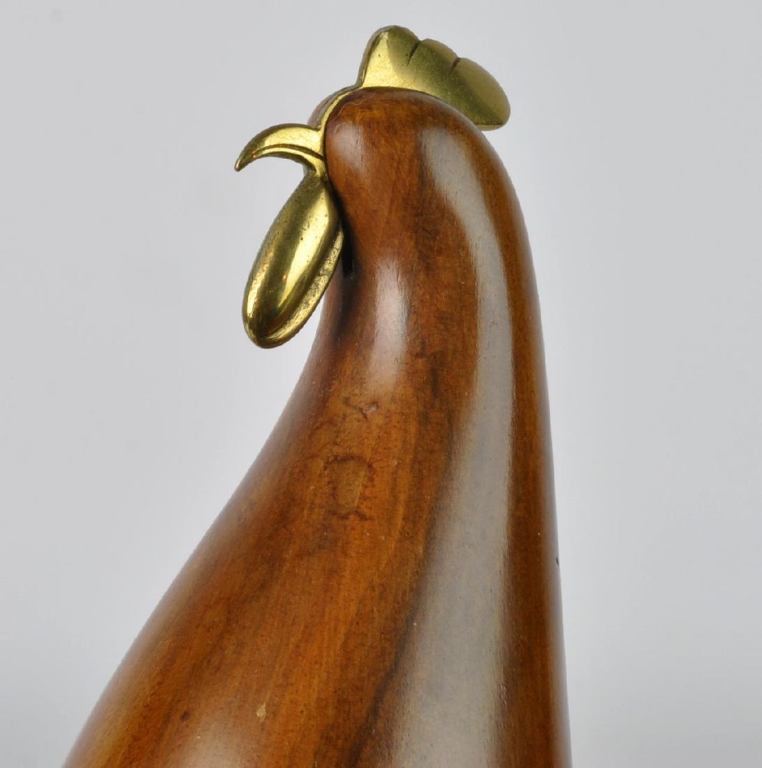 Karl Hagenauer Modernistic Rooster Sculpture - 5
