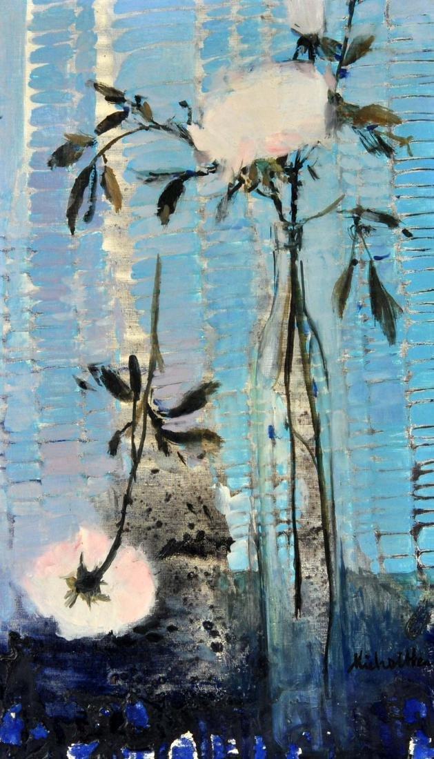 "Michel Henry ""Harmony Rose et Bleue"" O/C"
