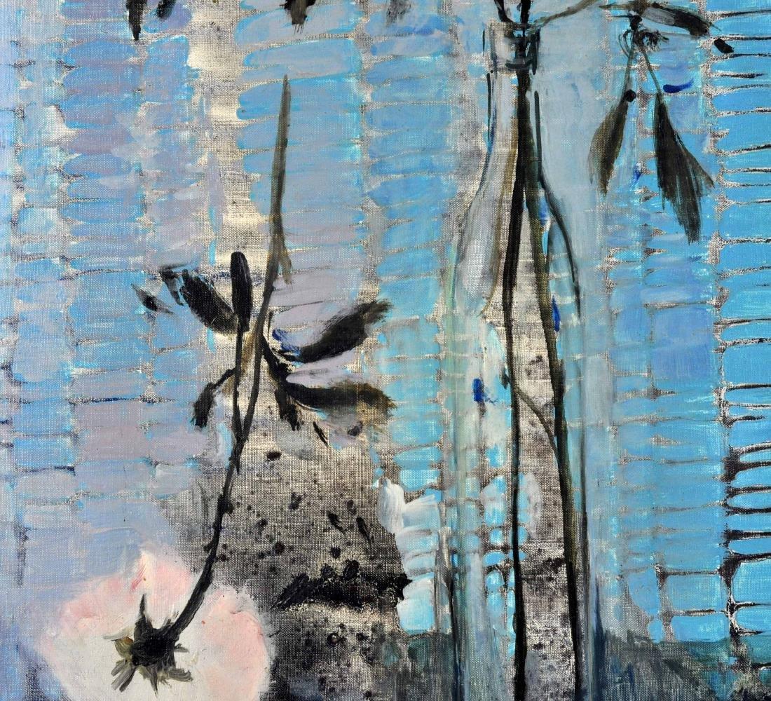 "Michel Henry ""Harmony Rose et Bleue"" O/C - 4"