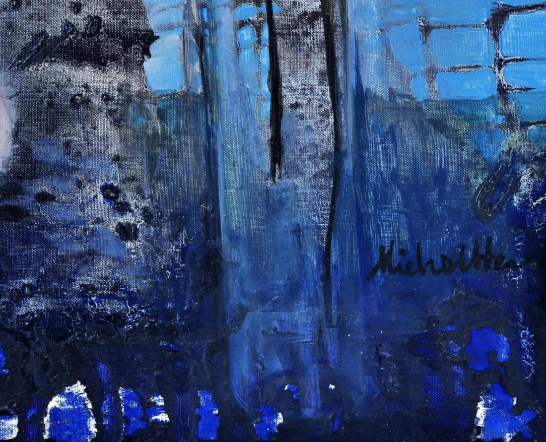"Michel Henry ""Harmony Rose et Bleue"" O/C - 6"