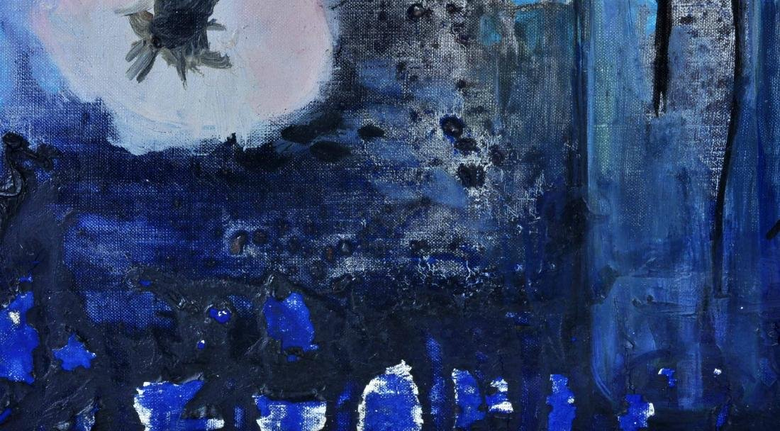"Michel Henry ""Harmony Rose et Bleue"" O/C - 7"