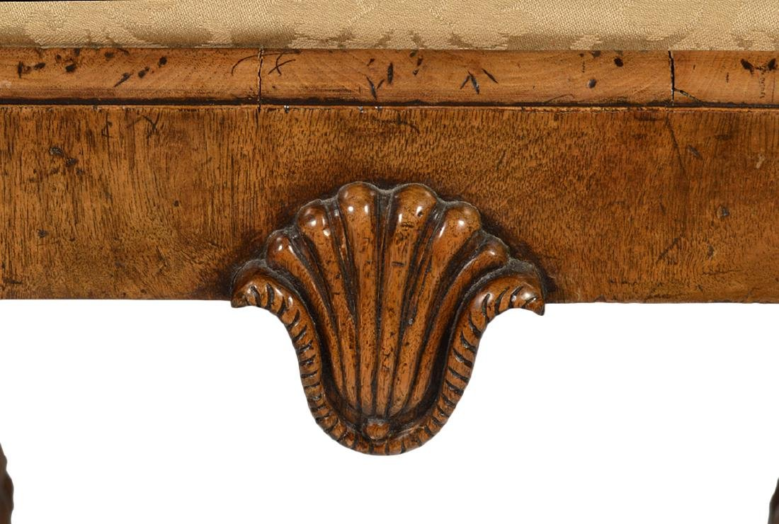 Pr. English Cabinet Made Chippendale Style Benches - 7