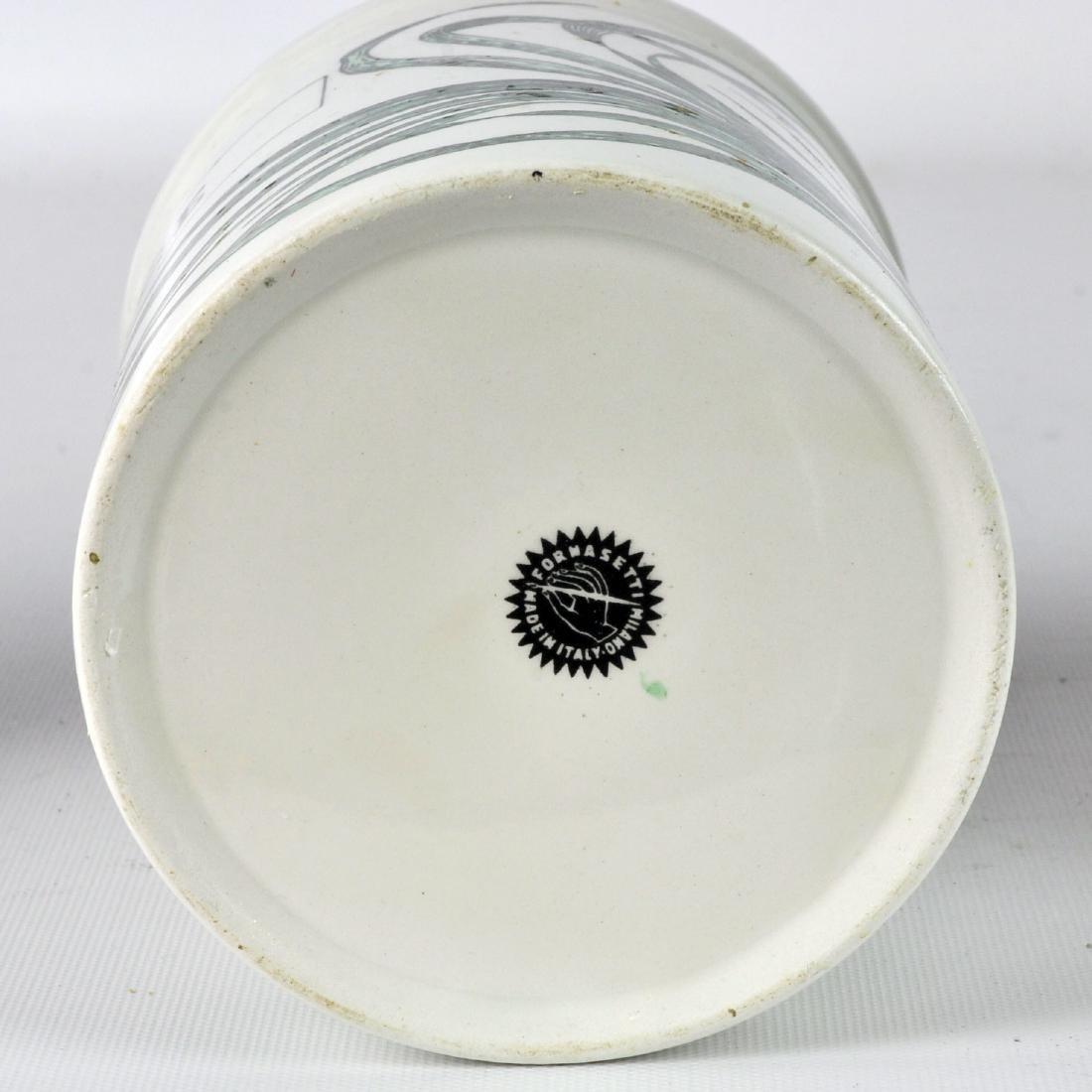 5 Piero Fornasetti Italy Lidded Jars - 5