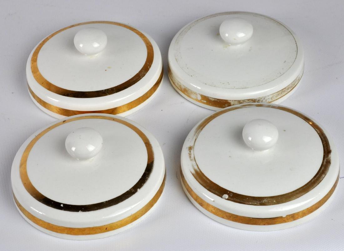 5 Piero Fornasetti Italy Lidded Jars - 7