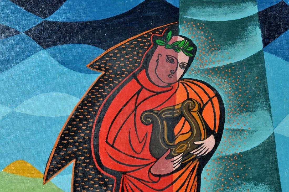 """Pippo Oriani """"Ascending"""" Oil on Canvas - 3"""