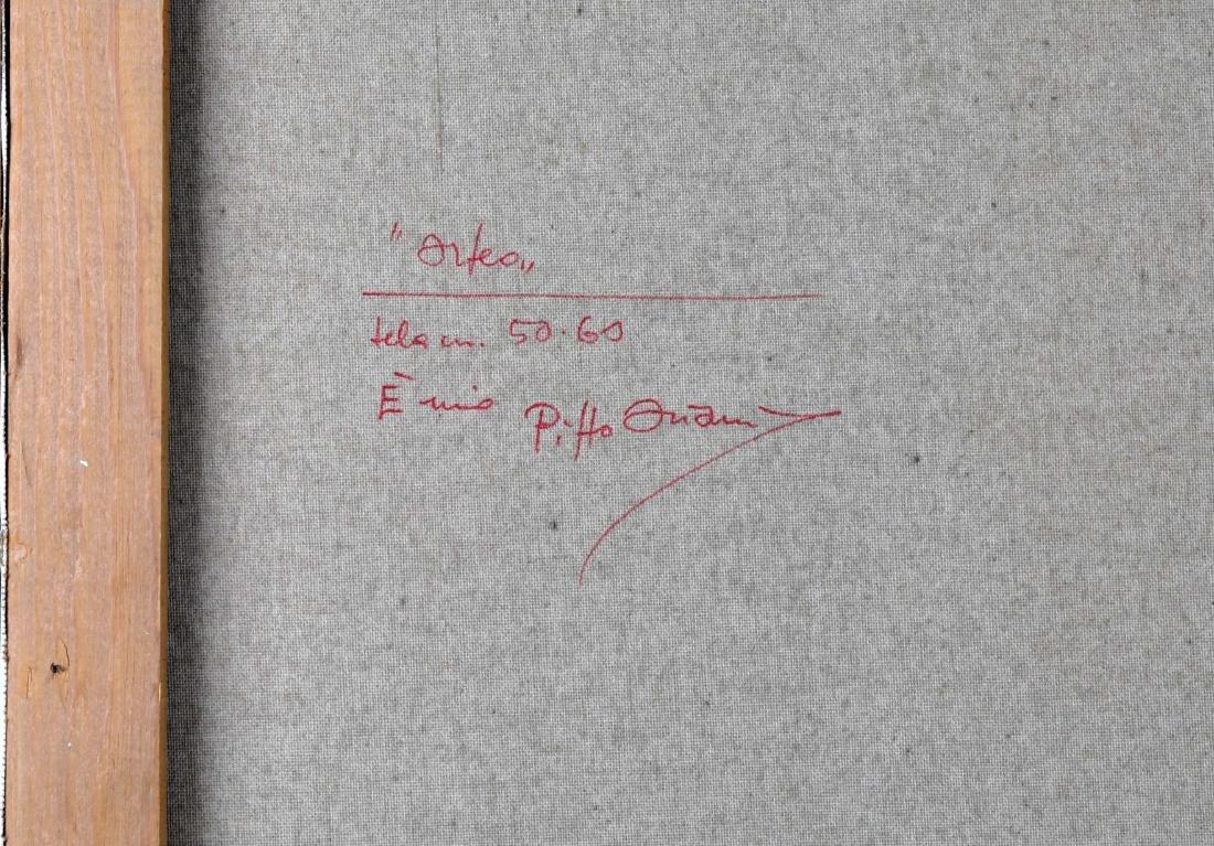 """Pippo Oriani """"Ascending"""" Oil on Canvas - 8"""