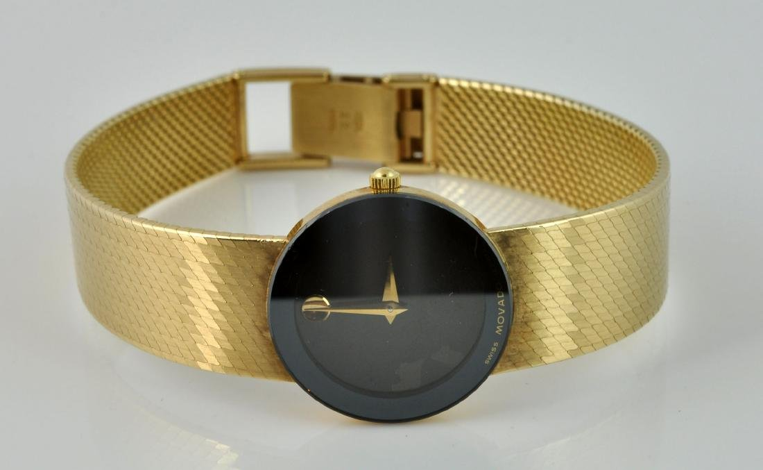 """Movado Museum"" Lady's 14Kt Gold Wristwatch"