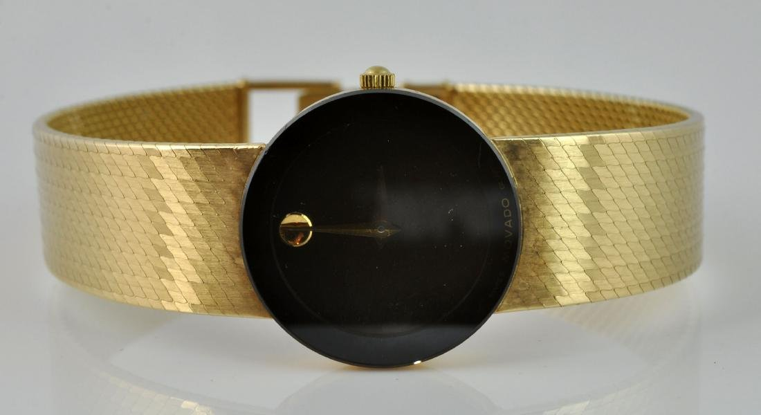 """Movado Museum"" Lady's 14Kt Gold Wristwatch - 2"
