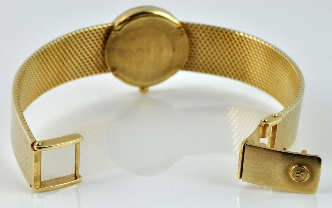 """Movado Museum"" Lady's 14Kt Gold Wristwatch - 4"