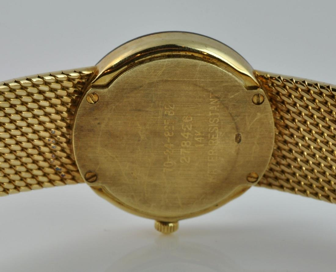 """Movado Museum"" Lady's 14Kt Gold Wristwatch - 5"