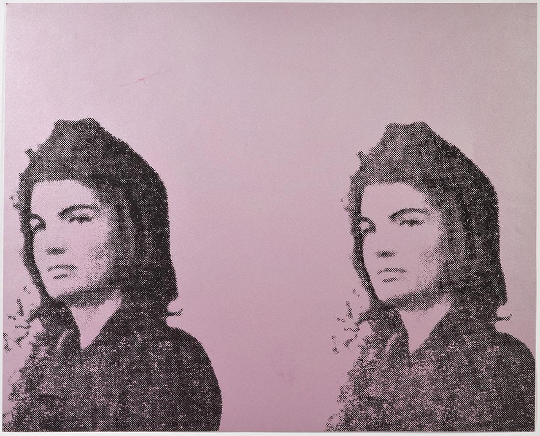 Andy Warhol Jacqueline Kennedy II Screenprint
