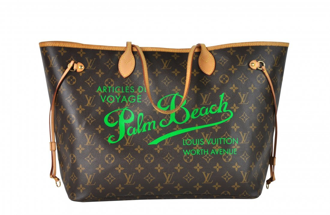 Limited Edition Louis Vuitton 'Neverfull GM' Tote