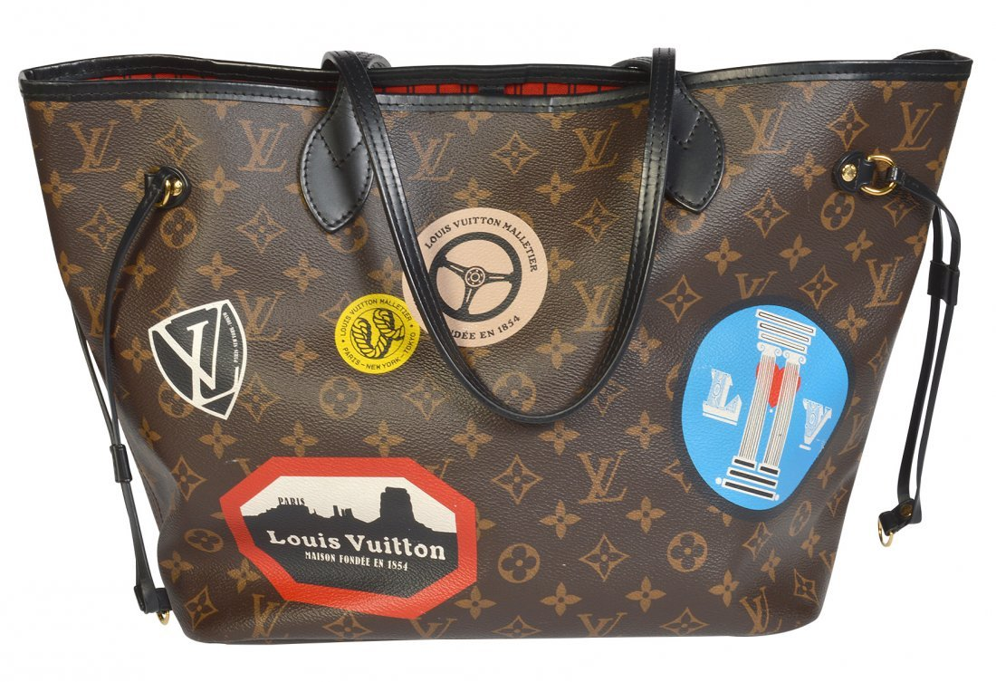 Limited Edition 2016 Louis Vuitton 'Neverfull' Bag