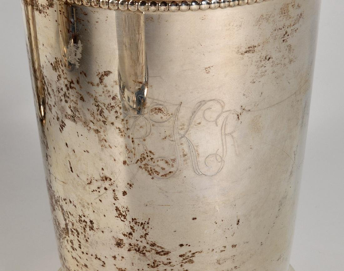 Eight (8) Empire Sterling Silver Mint Julep Cups - 3