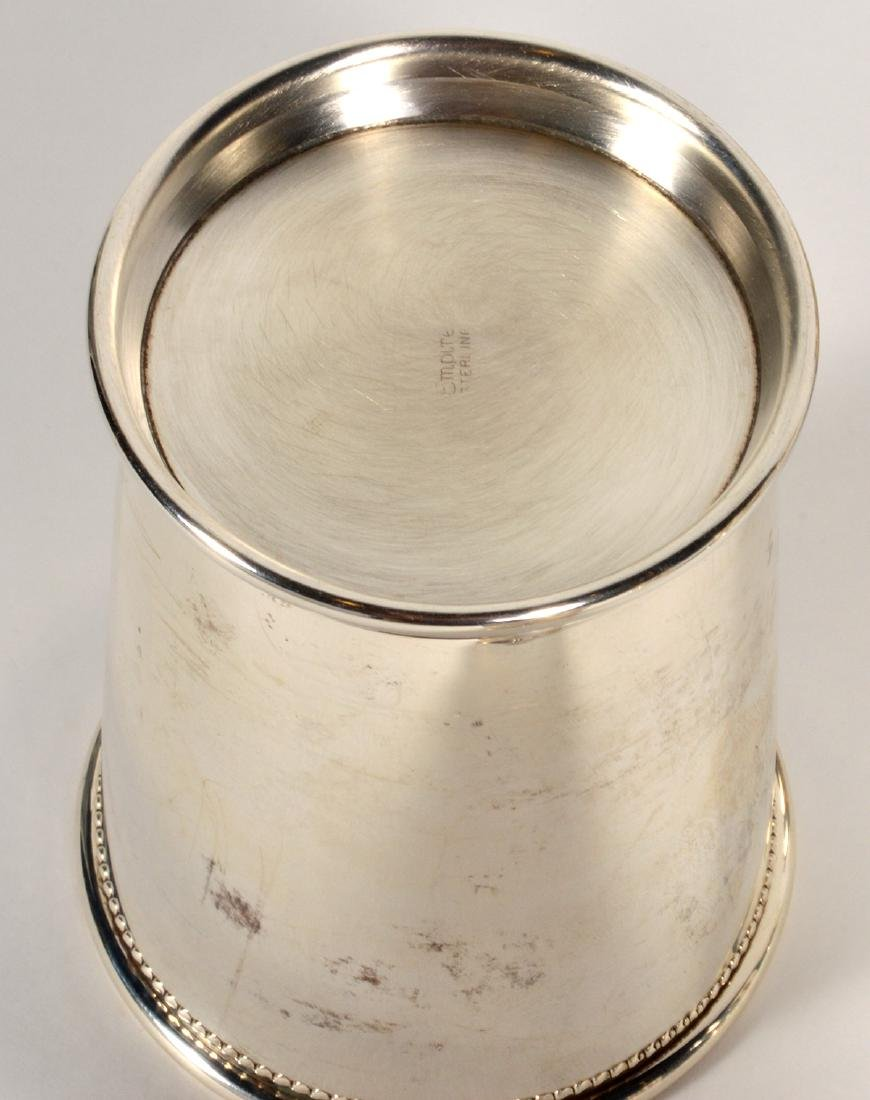 Eight (8) Empire Sterling Silver Mint Julep Cups - 6