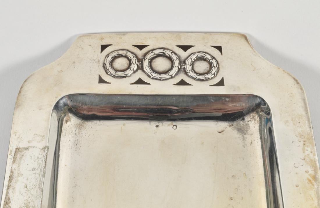 Pr. Austrian Silver Art Deco Cocktail Trays - 2