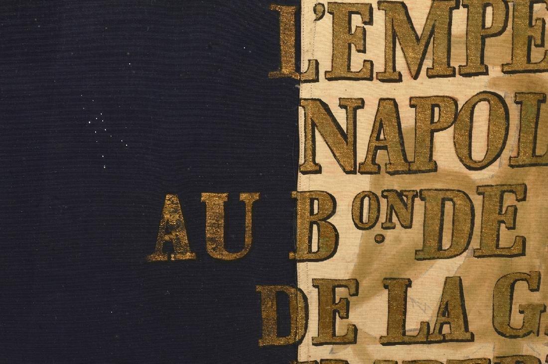 Napoleon Imperial Marine Guard Original Flag - 10