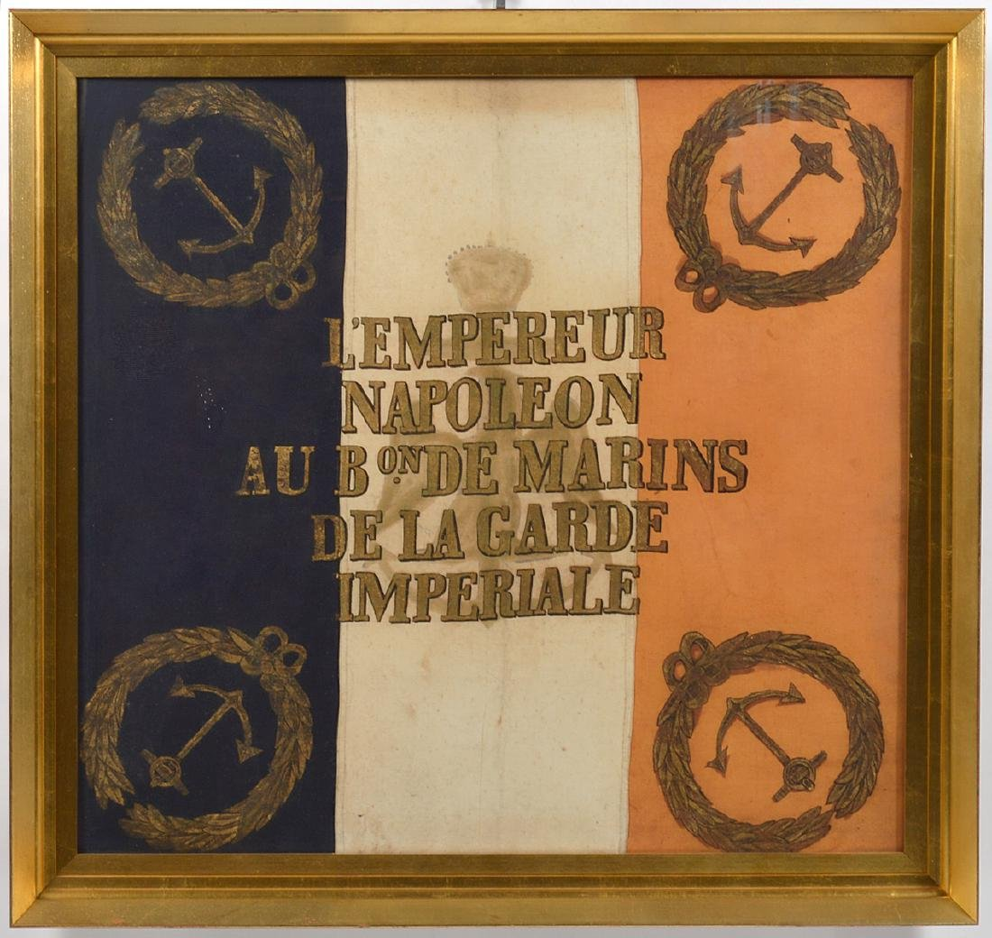 Napoleon Imperial Marine Guard Original Flag