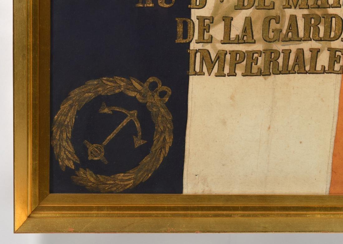 Napoleon Imperial Marine Guard Original Flag - 2