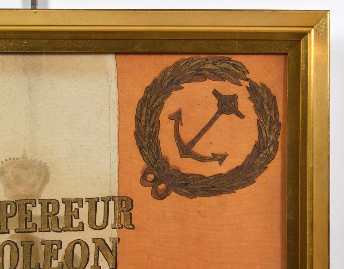Napoleon Imperial Marine Guard Original Flag - 3
