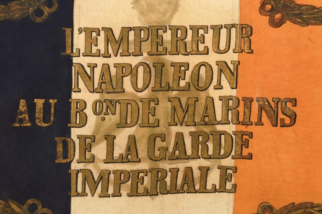 Napoleon Imperial Marine Guard Original Flag - 8