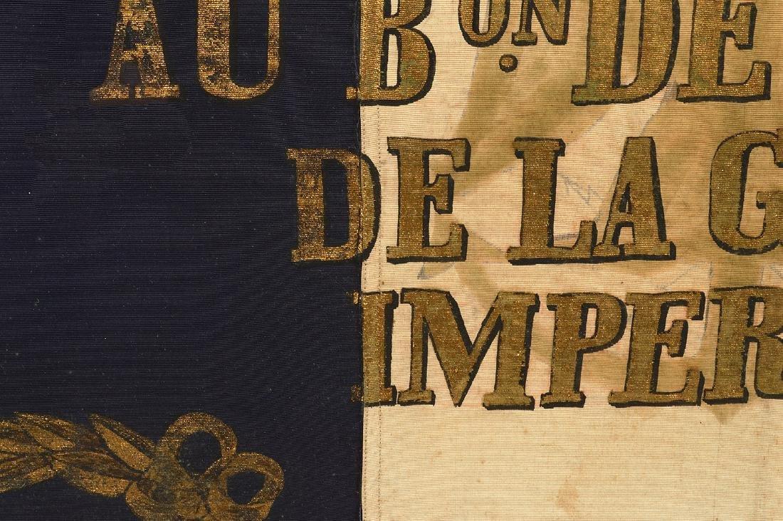 Napoleon Imperial Marine Guard Original Flag - 9